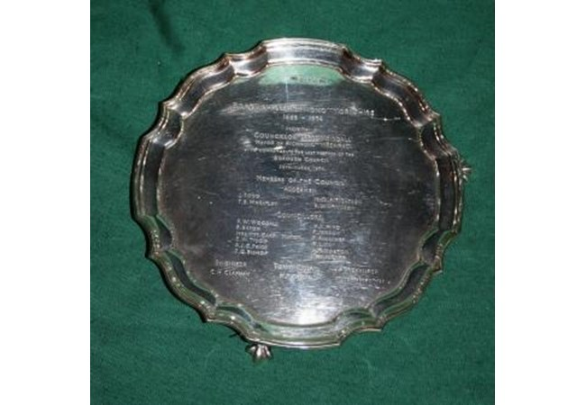 The Woodall Silver Salver